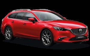 Mietwagen Mazda 6 Automatik - Autovermietung. Red Line Rent a Car Gran Canaria.