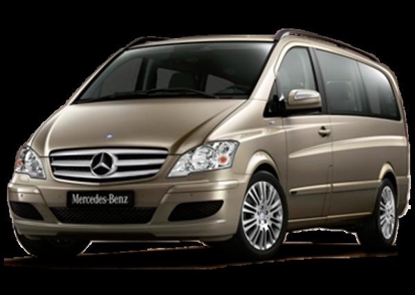 Mietwagen Mercedes Vito Automatic 9 pax - Autovermietung. Red Line Rent a Car