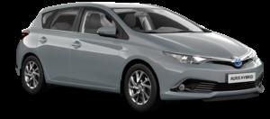 Mietwagen Toyota Auris Hybrid Automatik - Autovermietung. Red Line Rent a Car