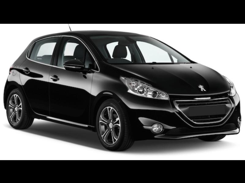 Mietwagen Gran Canaria - Peugeot 208. Autovermietung Red Line Rent a Car.