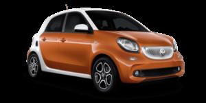 Mietwagen Smart Forfour Automatik - Autovermietung Gran Canaria. Red Line Rent a Car.